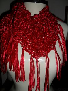 xale em trico www.facebook.com/artesdairis