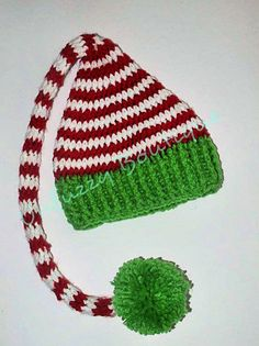 Stacey from Busting Stitches has designed this wonderful, whimsical hat and bonus! She's included all sizes from baby through adult!  A readily-available aran weight yarn is used, for extra quick stitching. I can envision some family portrait Christmas cards with this one!  You can