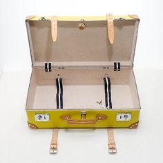 Globe Trotter suitcase...only $1700... a girl can dream about luggage, right?