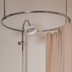 round shower curtain ring