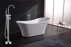AKDY Bathroom White Color Acrylic FreeStanding Bathtub And Faucet AZ-F274-WFB AKDY http://www.amazon.com/dp/B00BIOQ2N6/ref=cm_sw_r_pi_dp_FyUlwb09K2F40
