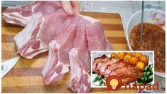 Odkedy mám tento recept, bravčové už nevyprážam, toto je fantastické: Najchutnejšie mäso so zemiakmi pečené vcelku – tajomstvo je v marináde! Pork, Beef, Foods, Kale Stir Fry, Meat, Food Food, Food Items, Pork Chops, Steak