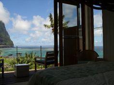 Capella Lodge: View from Bed #LordHoweIsland #Australia http://www.tripadvisor.com.au/ShowForum-g528988-i10048-Lord_Howe_Island.html