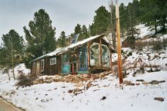 http://cabinporn.com/post/110646415150/artist-in-residence-cabin-up-lefthand-canyon