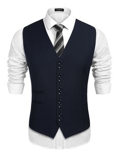 Goodfans Mens Slim Fit Lapel Plaid Button Up Long Sleeve Contton Casual Shirts