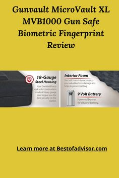 A fingerprint gun safe is very secure for advanced level safety. This type of safe is very popular to protect the most valuable things in your home and office. Find the best fingerprint gun safe for your home, shops, or office. Read more...[] Fingerprint Gun Safe, Fingerprint Recognition, Types Of Fingerprints, Biometric Scanner, Gun Vault, Gun Safes, Home Safes, Positive And Negative, Cool Suits