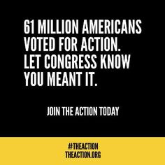 Congress has until December 31st to decide whether they will side with the richest two percent of Americans at the expense of the struggling middle class. The Action is a grassroots movement in support of a tax system that works for all Americans. Our demand is simple: fairness and progress from Congress. The election is over. Don't rest. End the Bush tax cuts for the richest 2%. Join THE ACTION. http://theaction.org/