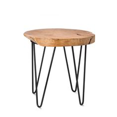 Klion Natural Side Table