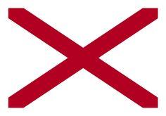 Alabama State Flag  [EPS-PDF]