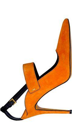 Daniele Michetti ~ Spice Suede Pointy Toe Sandal
