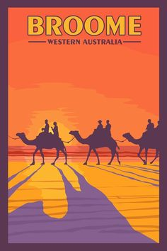 Items similar to Broome Western Australia - Vintage Travel Poster on Etsy Broome Western Australia, Party Vintage, Posters Australia, Australian Vintage, Tourism Poster, Vintage Travel Posters, Retro Posters, New Travel, Travel Bag