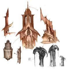 Darksiders concept art by Paul Richards (1)