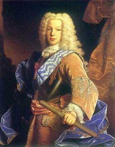 Portrait of King Ferdinand VI of Spain as Prince of Asturias, Jean Ranc