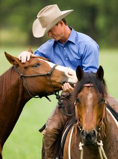 Chris Cox horseman. --This guy is amazing! Went to one of his clinics and just wow!  Really like his style and the way he works with the horses.