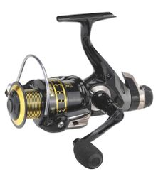 Mitchell Avocet IV Gold Rear Drag Spinning and Bait Casting Fishing Reel