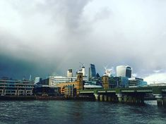 Even on cloudy days theres a rainbow if you look out for it...  #rainbow #rainyday #cloudyday #london #londonsky #londonrainbow #lookup #lightatendofthetunnel #hope #friday #fridayfeeling