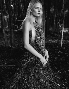 in the wild: maja salamon by benjamin vnuk for s/s/a/w scandinavia spring / summer 2015