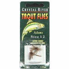 Crystal River Trout Flies, Multicolor