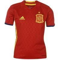 adidas Spain Home Shirt 2016 Junior