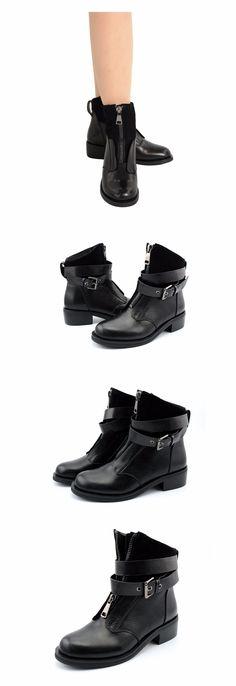 512053c375d1 45% СКИДКА CLASSICONE зимние женские ботинки натуральный мех натуральная  кожа Устойчивая к износу подошва железная пряжка зимние женские сапоги  женская ...