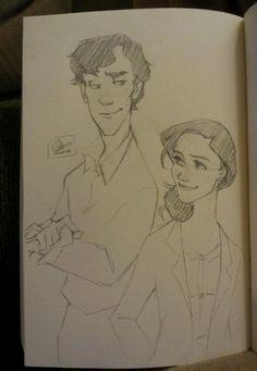 Lexie sometimes draws
