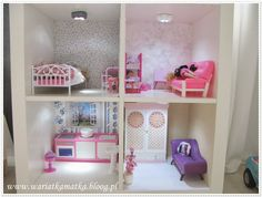 from ikea to a barbie house