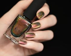 Nostalgia H Gold Green Red Bronze Copper Holographic by ILoveNP