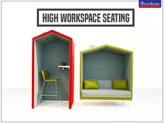 This innovative series gives you options galore to put them in a way that make life easy for you. #Seating