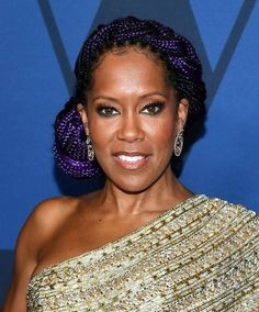 The most beautiful hairstyles of Governors Awards 2019 Regina King, Jennifer Lopez, Pulled Pork, Braided Hairstyles, Blond, Most Beautiful, Awards, Hair Styles, Beautiful Hairstyles