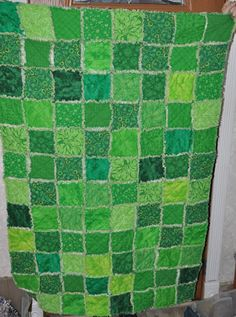 Green Quilt of Awesomeness!