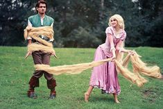 The Best Couples Halloween Costumes (36 pics) I think He'd like being Eugene :p Tangled Cosplay, Disney Cosplay, Cosplay Anime, Epic Cosplay, Amazing Cosplay, Cosplay Ideas, Tangled Costume, Funny Cosplay, Disney Pixar