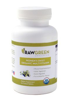 NEW! Raw Green Organics - Woman's Daily Organic Multivitamin #vegan #organic (http://www.rawgreenorganics.com/womans-daily-organic-multivitamin/)