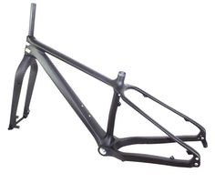 26er Carbon Fiber Fat Bike Frameset  Front 135mm and 150mm Rear 190mm and 197mm