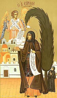 Saint Irene was the daughter of a wealthy family from Cappadocia, and was born in the ninth century. After the death of her husband Theophilus, the empress Theodora ruled the Byzantine Empire as regent for her young son Michael. Saint Theodora (February 11) helped to defeat the iconoclast heresy,…