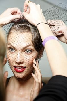 Backstage at Jason Wu RTW Spring 2013