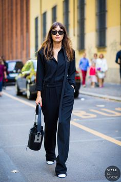 Patricia Manfield: Unerwartete Streetstyle-Looks Street Look, Street Chic, Street Style, Business Casual Outfits, Office Outfits, Office Wear, Streetstyle 2016, Outfit Combinations, Work Wardrobe