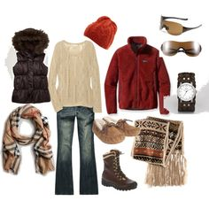cozy clothes for camping
