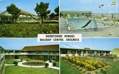Derbyshire Miner's Camp Holiday Photos, Holiday Fun, Butlins, Seaside Holidays, Derbyshire, Vintage Postcards, Britain, The Good Place, Centre