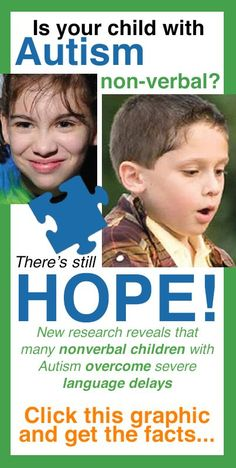 Some very promising #Autism research! Repin to spread the word!