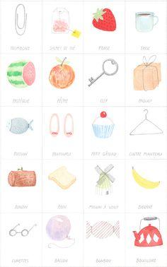 {parlez vous francais} such a cute + educational illustration!