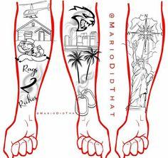 Half Sleeve Tattoos Sketches, Half Sleeve Tattoo Stencils, Half Sleeve Tattoos Forearm, Lion Forearm Tattoos, Half Sleeve Tattoos Designs, Forearm Tattoo Design, Tattoo Design Drawings, Best Sleeve Tattoos, Arm Tattoos Black