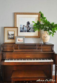 Resultado de imagen para livings con pianos verticales
