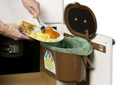 Compost Bin Under Sink - Sinks are an essential part of kitchens and bathrooms . Sinks made from various materials are ava Under Sink Organization, Under Sink Storage, Sink Organizer, Kitchen Organization, Kitchen Compost Bin, Housekeeping, Household, Bob Vila, Cleaning