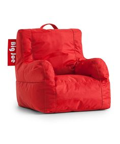Look at this Flaming Red Big Joe Lil Duo Chair on #zulily today!