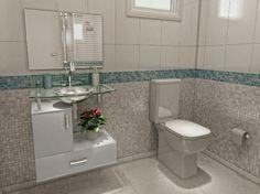 Banheiros Pequenos e Decorados 5