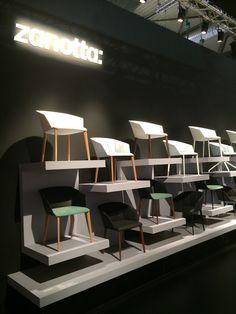 Zanotta  Milano Salone del Mobile 2015/ Liza chair collection by lievore altherr molina