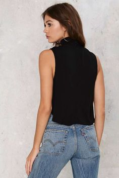 Mock the Casbah Crop Top - Clothes   Cropped