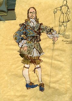 Twelfth Night (Sir Andrew). American Players Theatre. Costume design by Rachel Anne Healy.