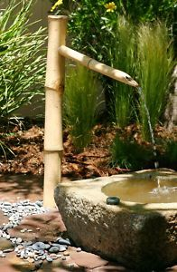Bamboo Garden Water fountains are soothing and calming. Makes a great landscape accessory.