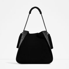 LEATHER BUCKET BAG WITH EMBOSSED DETAIL-View all-BAGS-WOMAN | ZARA Ireland